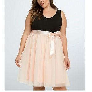 Torrid Tulle Skirt Skater Dress